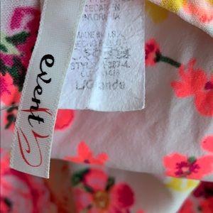 event Pants - Floral Romper Large